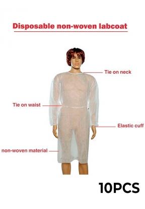 Unisex Disposable Non-Woven PPE Pro..