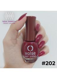 Valse Nail Polish Ruby Red #202..