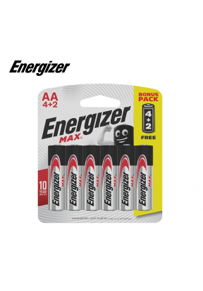 Energizer AA Max Alkaline Battery  ..