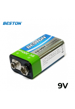 Beston 9V Rechargeable 300mAh ..