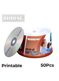 Risheng DVD-R Printable Pack of 50..