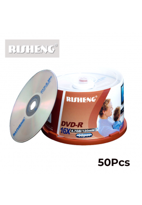 Risheng DVD-R  Pack of 50..