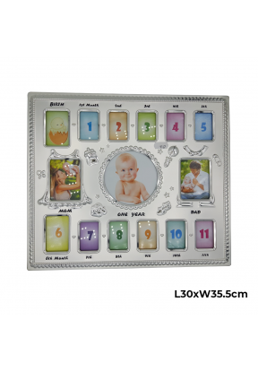 Photo Frame For Baby's First 12 Mon..