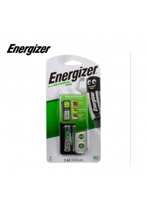 Energizer Charger + 2 AA Rechargeab..