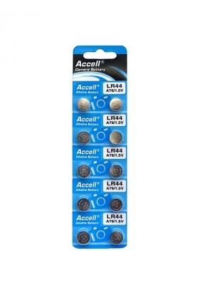 Accell LR44/A76 Alkaline Battery 1...