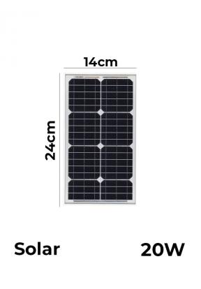 Monocrystalline Solar Panels 18V 20..