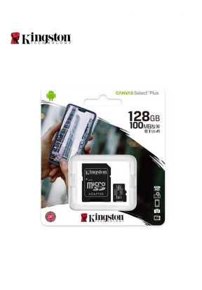 Kingston MicroSD 128GB With Adapter..