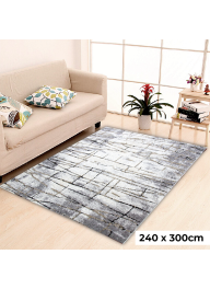 Textured Saxony Carpet Anti-Slip & ..