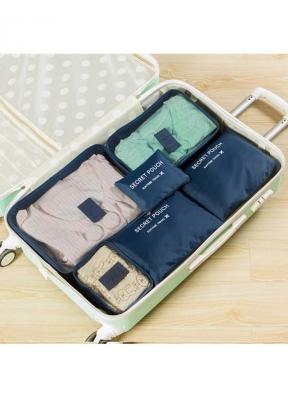 6Pcs/Set Travel Storage Bag Clothes..