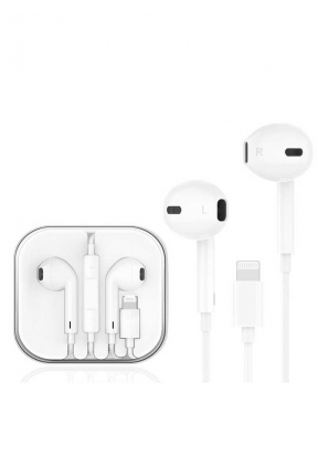 Lightning Connector Wired Earphone ..
