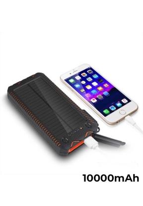10000mAh Solar Power Bank Shockproo..