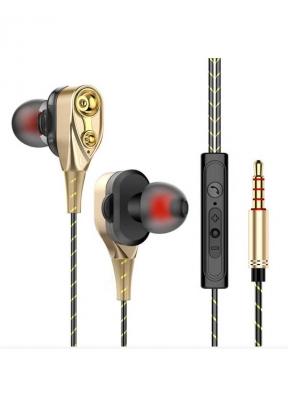 Double Unit Drive In-ear Wired Earp..