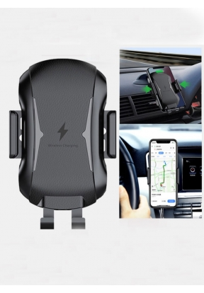 Wireless Car Charger Mount Auto Cla..