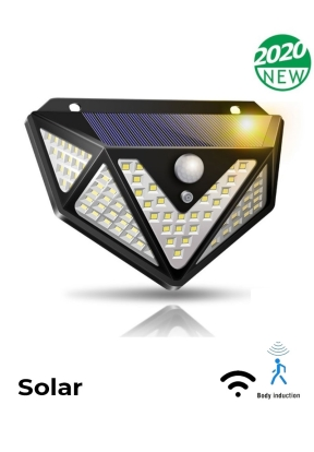 166-LED Solar Light Motion Sensor L..
