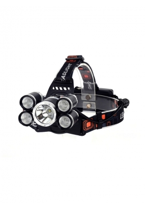 LED + T6 Strong Light Rechargeable ..