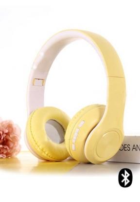 P68 Macaron Style Bluetooth 5.0 Fol..