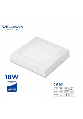 Wellmax Surface LED Square Down Lig..