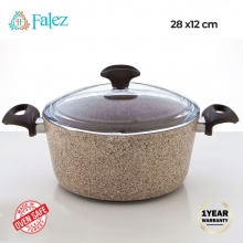 Falez Creamy Granite Casserole 6.8 ..