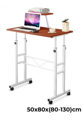 Adjustable Mobile Computer Desk Car..