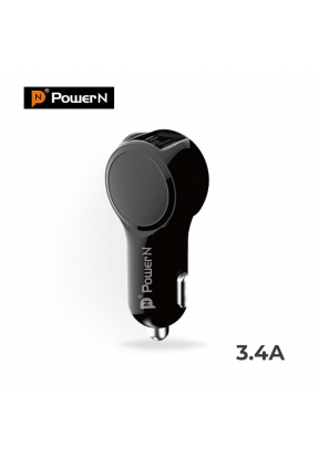 PowerN 4A-B Dual Port USB Quick Cha..