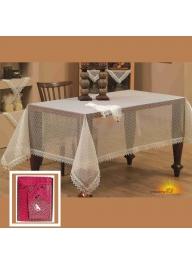 Tablecloth (160 x 220)cm with napki..
