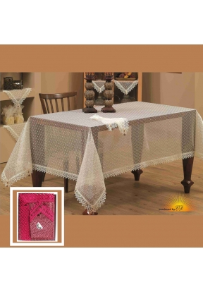 Tablecloth (160 x 220)cm with napki..