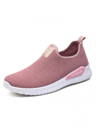 Pink Flat Soft Breathable C..