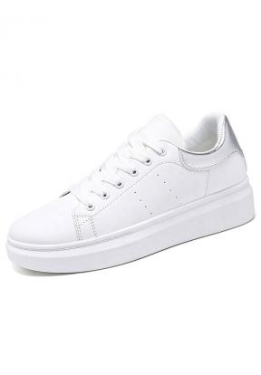 White & Silver Casual Comfortable  ..