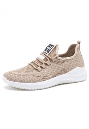 Beige Soft Breathable Casual Men's ..