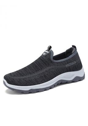 Grey Slip-on Casual Sport Men's Sne..