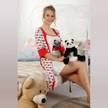 Elitol 17052 Women Gilrs Home Wear ..