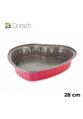 Dorsch Non-Stick Heart Cake Pan 28c..