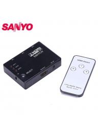 SANYO 3x1 HDMI Switch 3-Input to 1-..