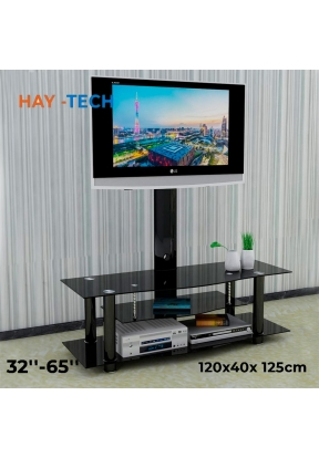 HAY-TECH TF5 2-Tier Glass Media Con..