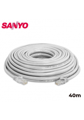 SANYO CAT6 Ethernet Patch Cable Dat..