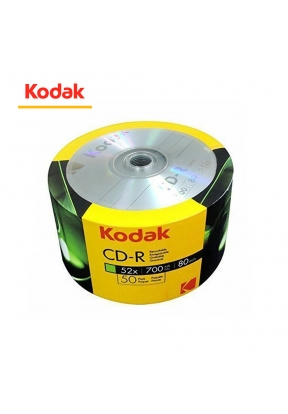 50 Pieces Pack KODAK CD-R 700MB..