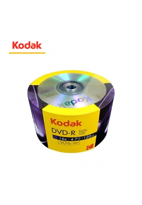 50 PCS Pack KODAK DVD-R 4.7 GB..