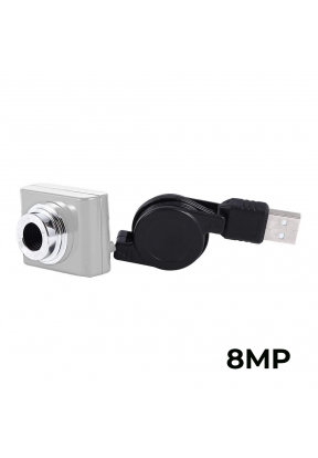 Mini Web Cam For PC 8MP With Retrac..
