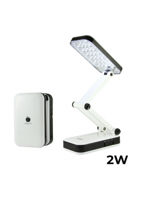 24 LED Rechargeable Two Brightness ..
