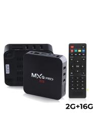 MXQ Pro Android TV Box 4K Smart Med..