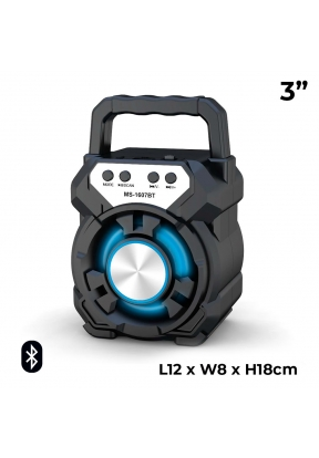 MS-1607BT 3 Inch Rechargeable LED F..
