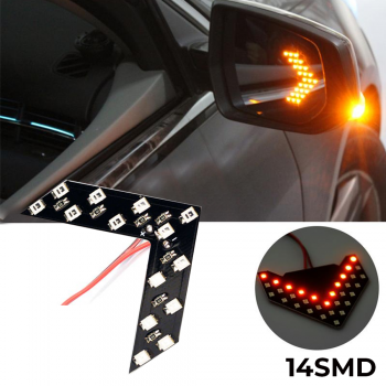 14-SMD Sequential LED Arrows for Ca..