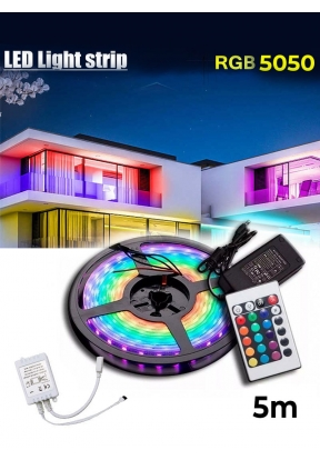 5 Meters LED Strip Remote Controlle..