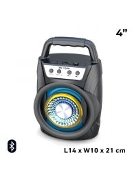 MS-1706BT 4-Inch 8W Rechargeable Wi..