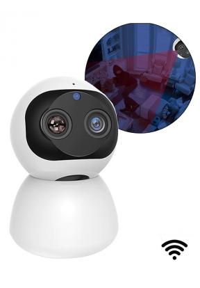 Dual Lens Wireless PTZ IP Camera 10..