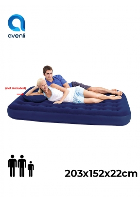Avenli Queen Size Flocked Air Bed I..