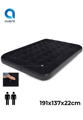 Avenli Double Size Flocked Air Bed ..