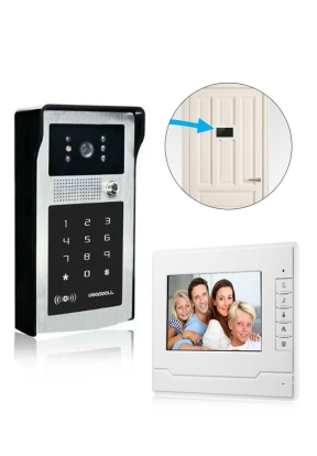 "Video Door Phone Intercom 7"" Displa.."