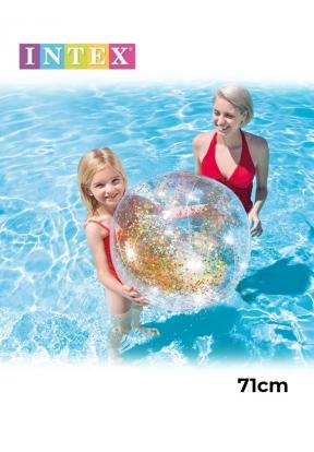 Intex 58070 Transparent Glitter Bea..