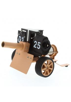 Mktime Cool Cannon Design Flip Cloc..